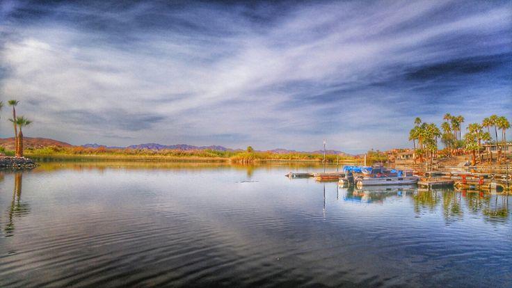 Fisherman's Landing by Andrea Cote, photography, lake, fishing, vacation, Arizona