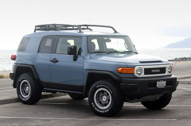 Toyota FJ Cruiser One of my dream cars!  I really like this blue color too!