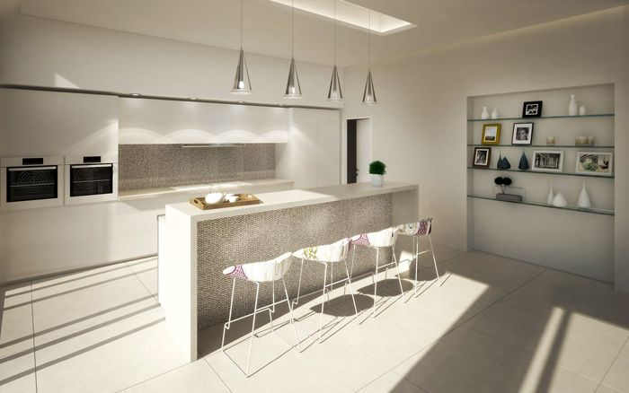 Patricia Sabljic, Level 4 BA (Hons) Interior Architecture and Design  #3D #kitchen #design #interiordesign #CAD