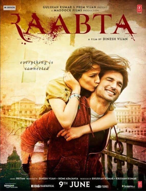 Raabta Official First Look | Sushant Singh Rajput, Kriti Sanon | Directed by Dinesh Vijan | Movie Releasing on 9th June 2017. #Raabta #SushantSinghRajput #KritiSanon #MaddockFilms #tseries #TSeriesFilms