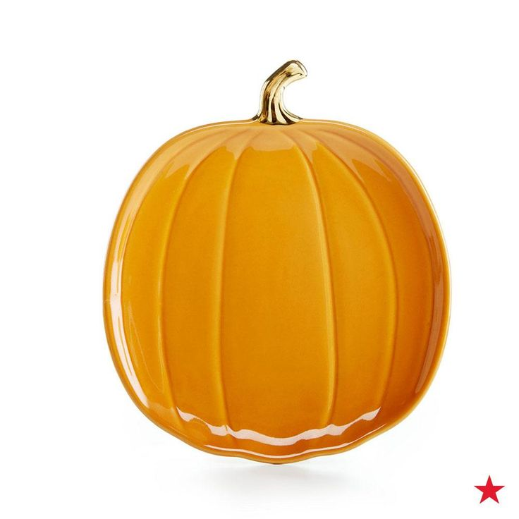 Get the party started and display all your tasty appetizers on this mini pumpkin plate from Martha Stewart Collection. Shop it on macys.com now!