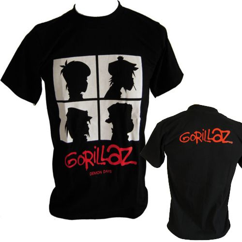 ceaf889c326a3 Popular Gorillaz T Shirts-Buy Cheap Gorillaz T Shirts lots from ...