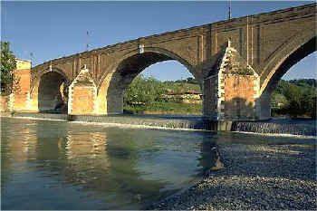 Cesena. Ponte Vecchio sul Savio
