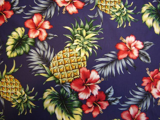 18 best hawaii pattern images on Pinterest | Tapeten, Trauzeugen und ...