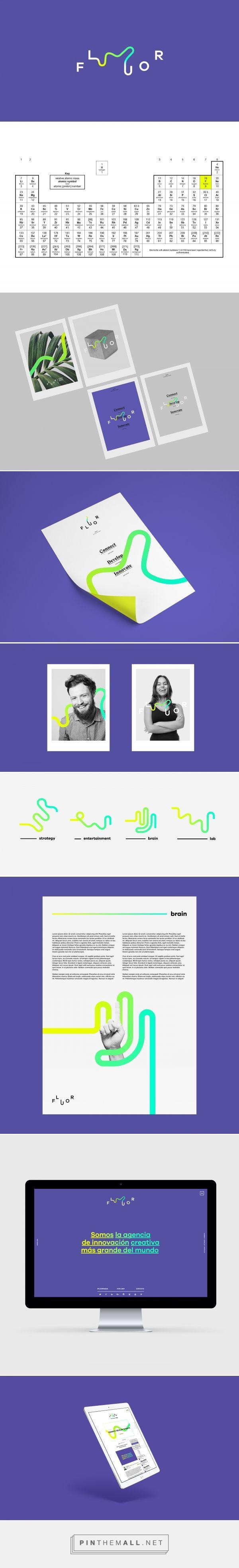 Fluor Naming & Branding on Behance - created via https://pinthemall.net