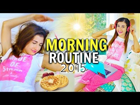 Back To School: Morning Routine For School| MayBaby - YouTube