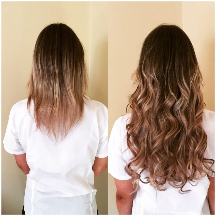 Hair extensions blonde curls wavy hairstyle hair envy microbeads