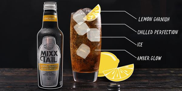 Garnish with lemon & serve over ice! #Mixxtail