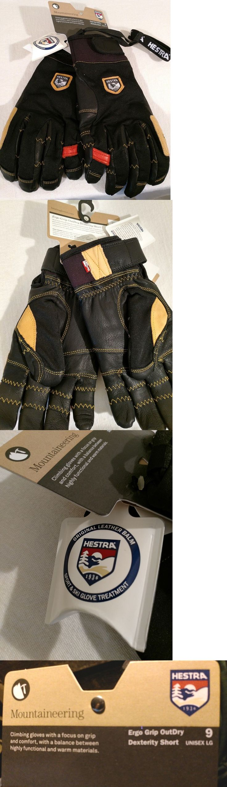 Gloves and Mittens 62172: Hestra Unisex Pro Winter Mountaineering Leather Ski Patrol Gloves Size 9 Newest -> BUY IT NOW ONLY: $99 on eBay!