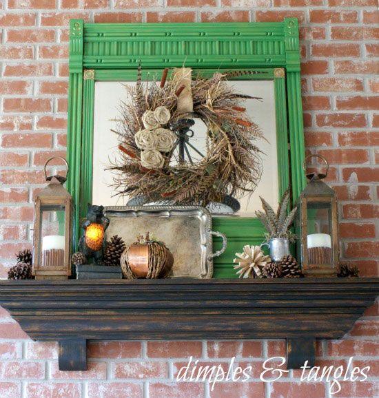 Best ideas about rustic mantle decor on pinterest
