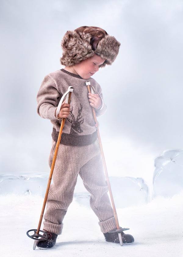 Deer sweater and trouser <3 Copyright: Mole-Little Norway | Photo: Geir Øyvind Gismervik