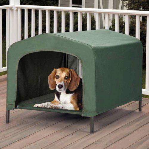 Etna Waterproof Pet Retreat Portable Dog House, http://www.amazon.com/dp/B00SGAFVQE/ref=cm_sw_r_pi_awdm_uQZ4wb0RZ78DF