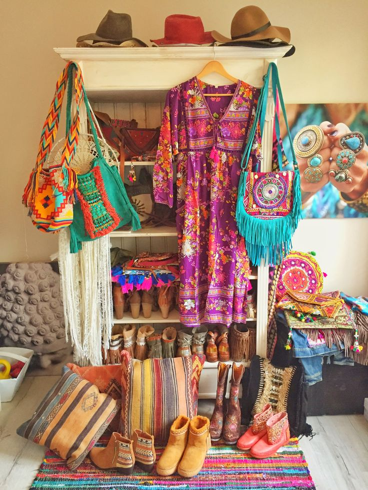 Bohemian Fashion Home Decor Inspiration
