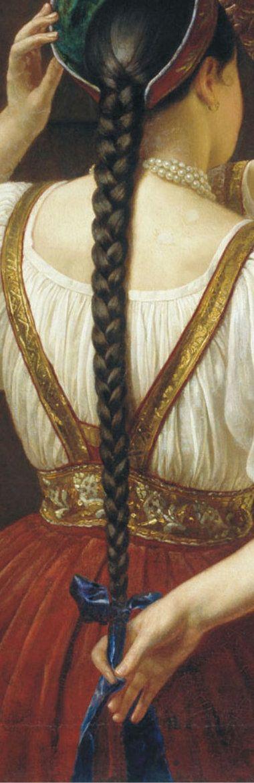 Филипп Будкин - Девушка перед зеркалом