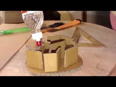 Как сделать форму для плетения из газет. - YouTube