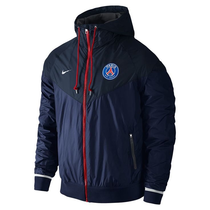 boutique Coupe Vent PSG Le bleu marine 2016 decathlon