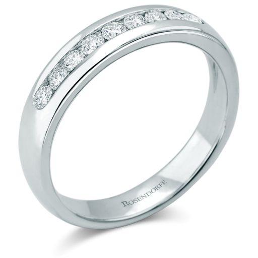 Fabulous Rosendorff Channel Set Diamond Wedding Ring