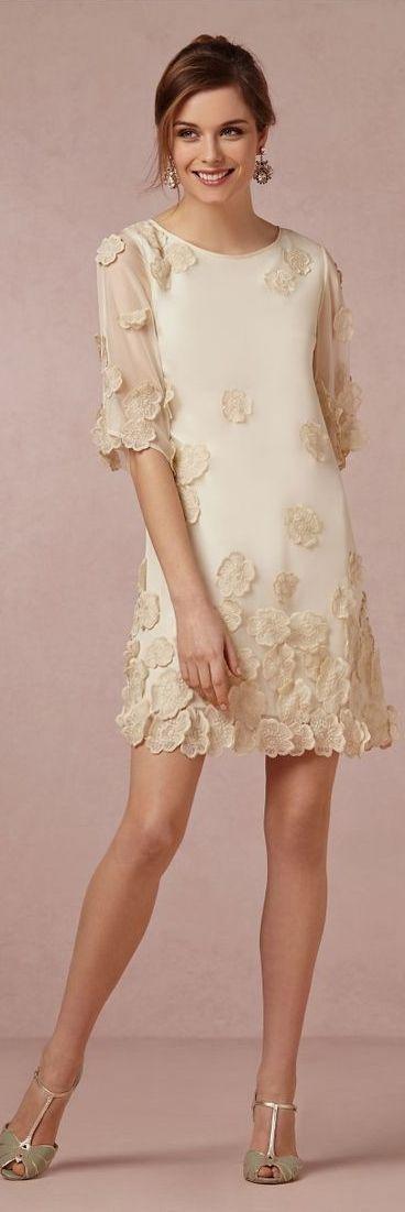 Rehearsal dinner dress inspiration - Gardenia Dress from BHLDN