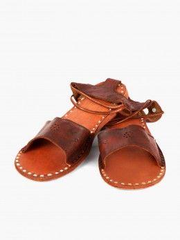Traditional Jodhpuri Sandals, Pure Leather