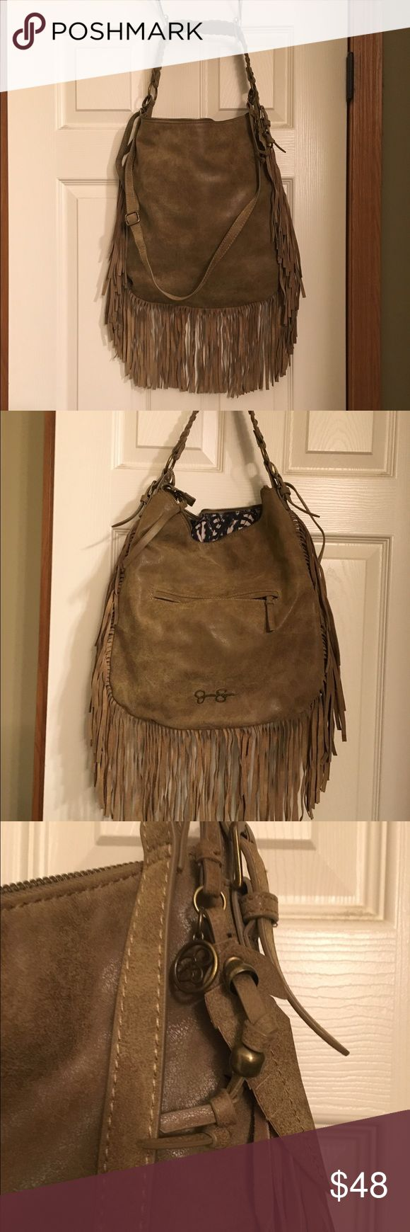 Jessica Simpson tassel cross-body Jessica Simpson Delilah fringe hobo bag -large bag wit lots of room Jessica Simpson Bags Crossbody Bags