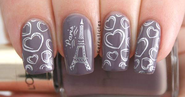 Eiffel tower nail art | Nails | Pinterest | Eiffel Towers, Paris Nails and Towers