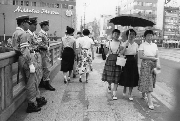 【昭和30年代】東中洲 昭和34年