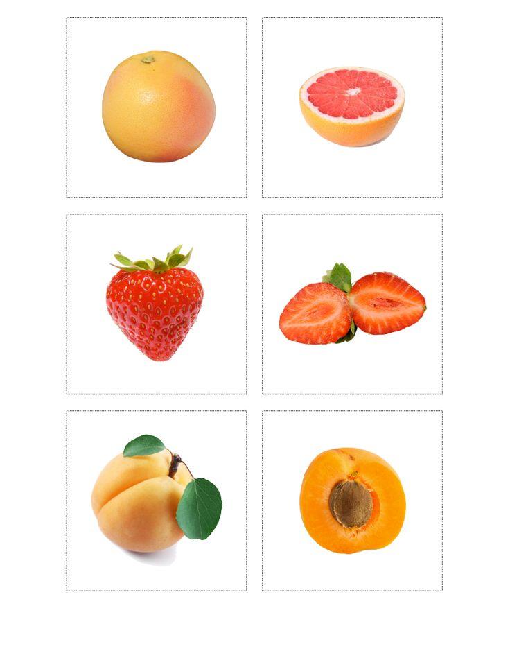 Voeding: Fruit + doorsnede 7