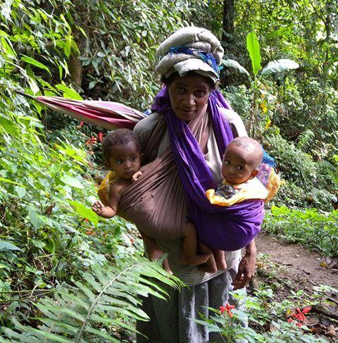 What a mum! Mum and Bubs on Kokoda