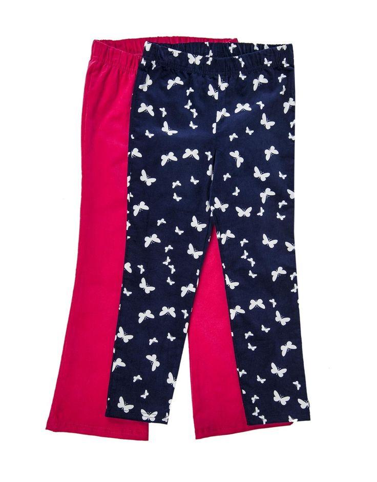 Corduroy Pants: 2-pack