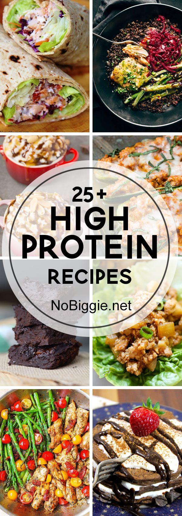 25+ High Protein Recipe | NoBiggie.net
