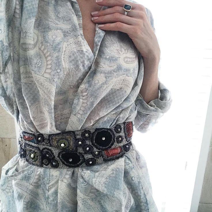 Levadnaja Details Кушак с любой блузой