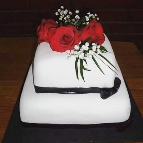 #Wedding #cake by Volován Productos #Instapuq #Puq #Chile #Cakestagram #VolovanProductos