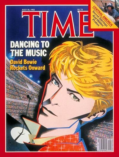 1983 Time magazine cover - David Bowie.