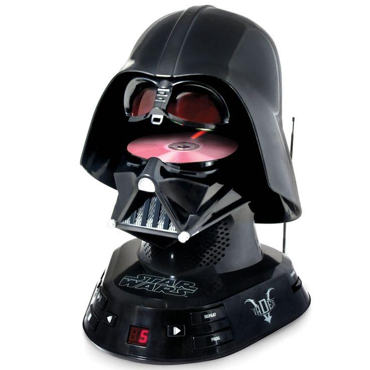 The Darth Vader CD Player - Hammacher Schlemmer