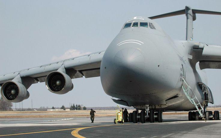 LOCKHEED C-5 GALAXY The Lockheed C-5 Galaxy is the... - Old Man's Eyes
