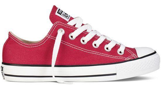 Czerwone klasyczne trampki CONVERSE All Star OX -15% tylko na YesSport.pl! KLIK: http://bit.ly/ConverseRedLow