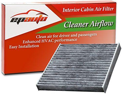 EPAuto CP285 (CF10285) Toyota / Lexus / Scion / Subaru Premium Cabin Air Filter includes Activated Carbon