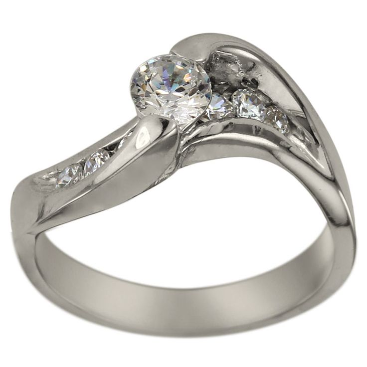 1000 images about modern engagement rings on
