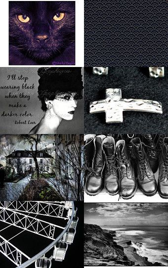 Fade to Black by lisa bodiker on Etsy--Pinned with TreasuryPin.com