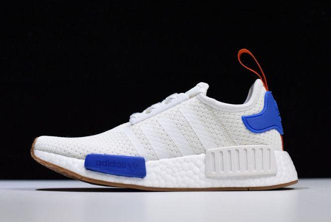 865a60d42a6cc adidas NMD R1 White Blue-Gum BB9498 in 2019