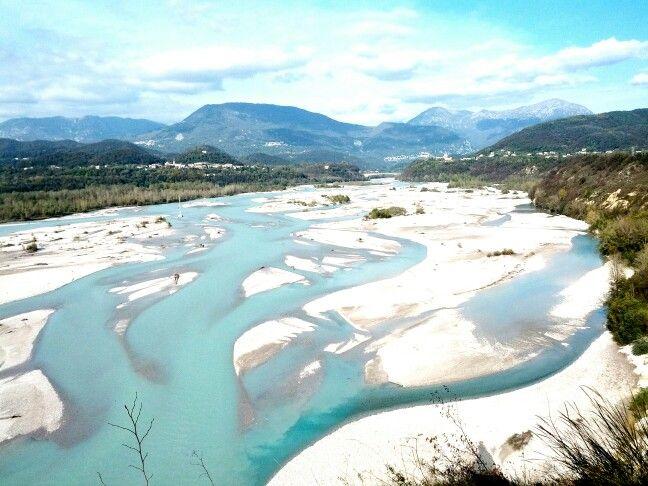 Fiume Tagliamento, a pochi passi da Forgaria nel Friuli