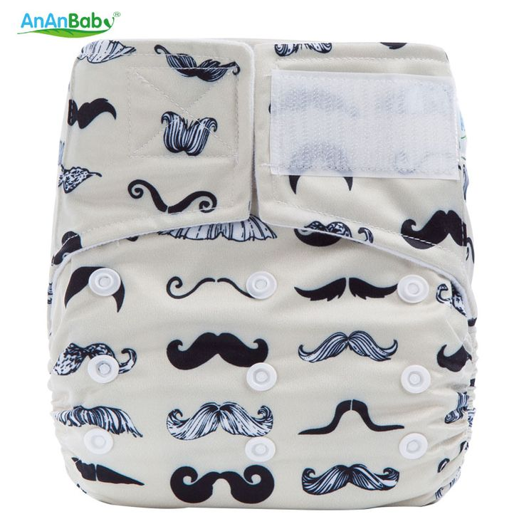2016 New Reusable Printed Hook And Loop Fastener Cloth Diaper Nappy Cover With Microfiber Insert Modern Cloth Baby Nappies