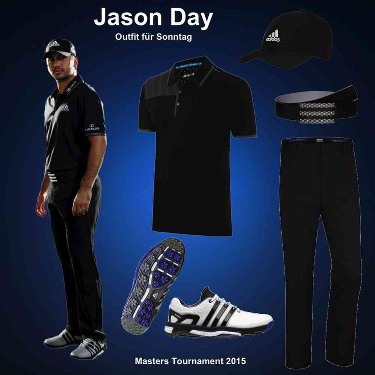Jason Day Masters Outfit 2015 - Sonntag