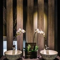 apaiser Globe basins in mother of pearl finish as featured at Maison&Objet Asia 2014. www.apaiser.com