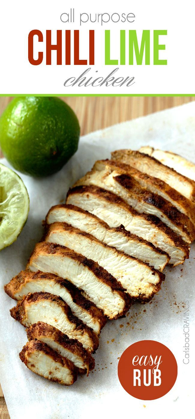 All Purpose Chili Lime Chicken | Best rub ever. (C)