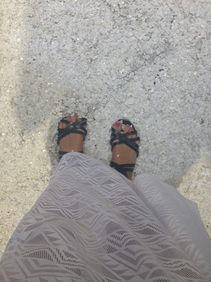 These sandals are brilliant for the hot weather when you don't want to have hot feet! I bought them from Topshop last year