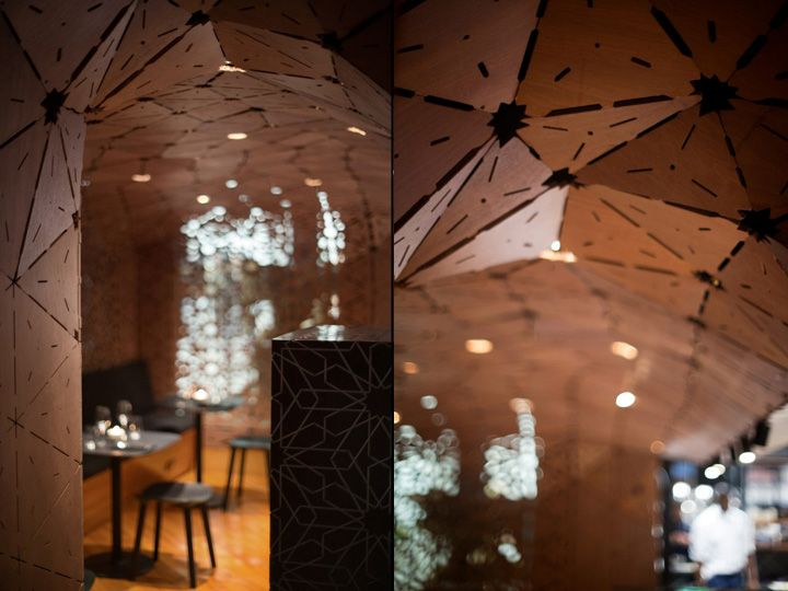 Milse restaurant by Cheshire Architects Auckland New Zealand