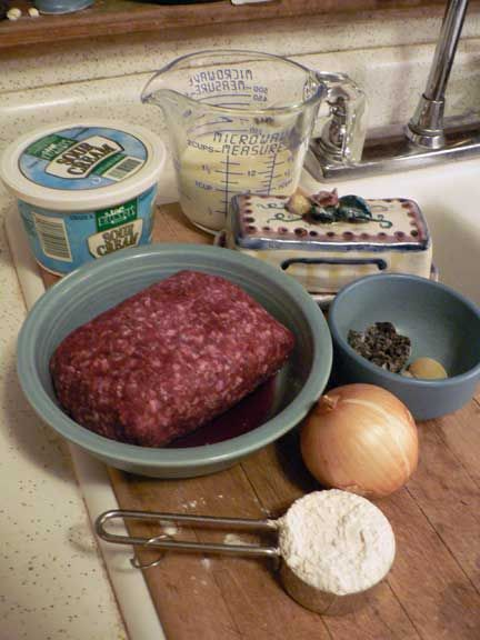 Hamburger Stroganoff Recipe | Gwens Nest