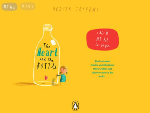 The Heart and the Bottle  (Oliver Jeffers)