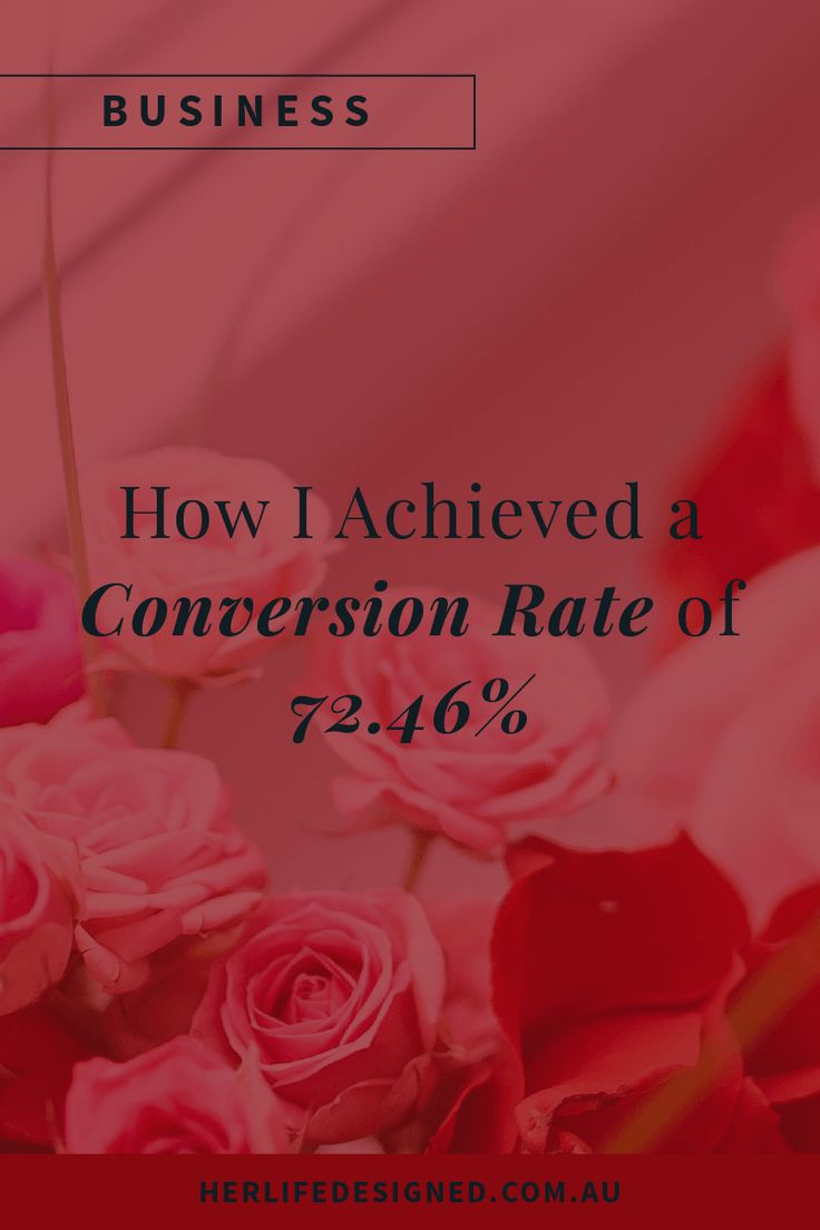 Want to know how I achieved a conversion rate of 72.46% so you can do the same? Read on...